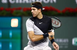 Del Potro venció a Alex de Minaur en su debut en Indian Wells