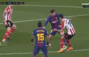 YouTube: Lionel Messi y el lujo que puso de pie al Camp Nou [VIDEO]