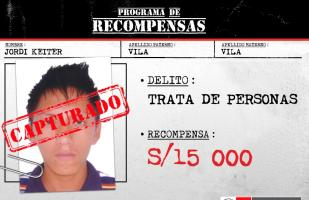 Capturan a requisitoriado por trata de personas en Cusco