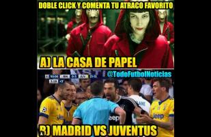 Facebook: Real Madrid vs. Juventus y los graciosos memes del triunfo merengue