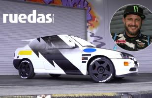 Ken Block regresa al rally al volante de su Ford Escort RS Cosworth | VIDEO