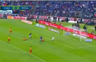 Cruz Azul vs. Morelia: Cauteruccio anotó con la rodilla para los cementeros |VIDEO