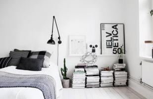 6 tips para decorar con blanco y negro tu dormitorio
