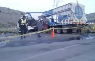 Carretera Central: accidente en La Oroya deja dos personas muertas