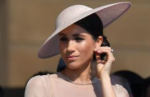 Meghan Markle y su primer look como duquesa de Sussex