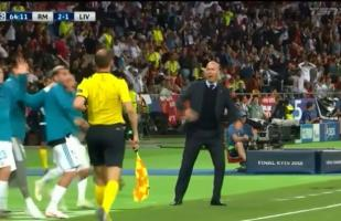 YouTube: Zidane reaccionó a gol de Gareth Bale con llamativos gestos | VIDEO