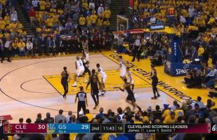 Warriors vs. Cavaliers: la espectacular clavada de LeBron James | VIDEO | Finales NBA 2018