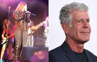 Hija de Anthony Bourdain se despide con música del chef