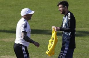 Sampaoli sobre Messi: