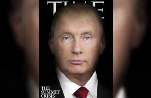 Revista Time fusiona rostros de Donald Trump y Putin en portada | VIDEO
