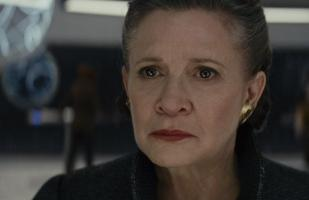 """Star Wars"": Carrie Fisher aparecerá en el episodio IX con metraje no usado"