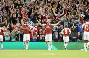 Arsenal derrotó por 2-0 a la Lazio por la International Champions Cup