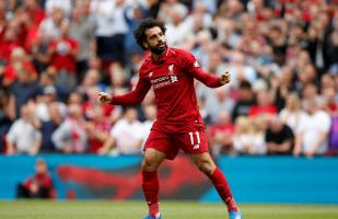Liverpool vs. West Ham: Salah anotó el primer gol de los 'Reds' en Premier League
