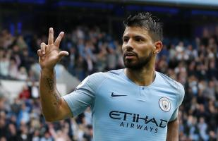 Manchester City vs. Huddersfield: Agüero anotó triplete en Etihad Stadium | VIDEO