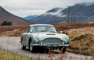 YouTube: Volverán a fabricar el Aston Martin DB5 de James Bond