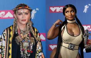 MTV Video Music Awards 2018: Madonna y Nicki Minaj se besaron en backstage | VIDEO