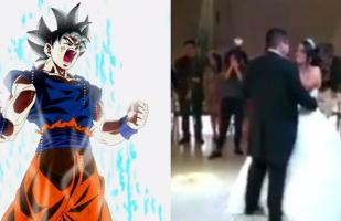 Facebook: sonó el tema de Dragon Ball en su boda y su reacción es imperdible [VIDEO]