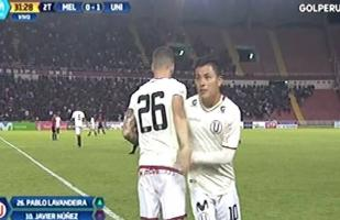Universitario vs. Melgar: Pablo Lavandeira debutó con los cremas | VIDEO