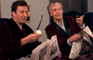 Paul McCartney y Jimmy Fallon sorprenden a sus fans en ascensor | VIDEO