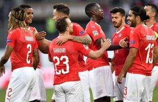 Suiza aplastó 6-0 a Islandia en su debut en la UEFA Nations League 2018 | VIDEO