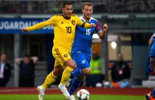 Bélgica goleó 3-0 a Islandia por la UEFA Nations League