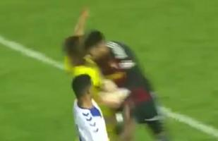 YouTube: jugador sufre terrible fractura por choque de cabezas en la Copa del Rey | VIDEO