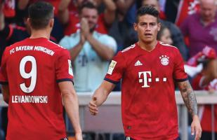 Bayern Múnich vs. Schalke 04 EN VIVO vía FOX Sports: con James Rodríguez, por la Bundesliga