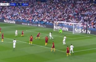 Real Madrid vs. Roma EN VIVO: Isco desperdició el 1-0 por culpa del portero Olsen | VIDEO