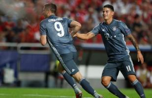 Bayern Múnich vs. Benfica: Lewandowski anotó el 1-0 por Champions League | VIDEO