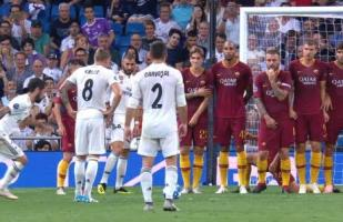 Real Madrid vs. Roma EN VIVO: Isco puso el 1-0 con un golazo de tiro libre | VIDEO