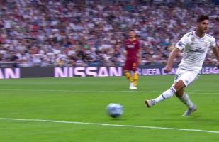 Real Madrid vs. Roma: la genialidad de Asensio que pudo acabar en un golazo monumental | VIDEO