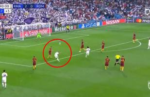 Real Madrid vs. Roma: mira el golazo de Mariano, el heredero de la '7', que levantó al Bernabéu | VIDEO