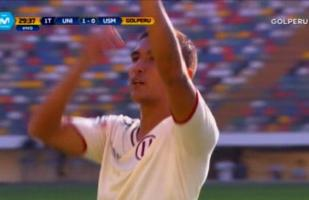 Universitario de Deportes vs. San Martín: Roberto Siucho abrió el marcador en el estadio Monumental | VIDEO
