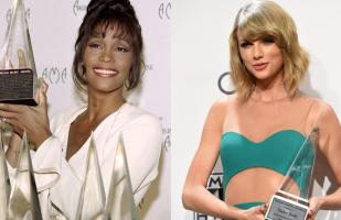 American Music Awards: ¿Taylor Swift alcanzará a Whitney Houston?