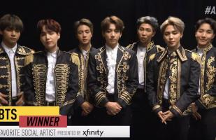 American Music Awards 2018: BTS ganó premio a Artista Social Favorito | VIDEO