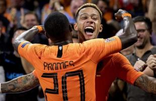 Holanda goleó 3-0 a Alemania por la fecha 3 de la UEFA Nations League
