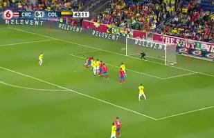 Colombia vs. Costa Rica EN VIVO: Kendall Waston dejó parado a Ospina y anotó el empate | VIDEO