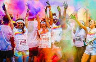 The Color Run Entel 'Hero Tour': todo lo que debes saber de esta carrera de 5k