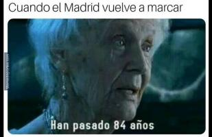 Facebook: Real Madrid vs. Levante y los terribles memes por la caída del cuadro blanco como local