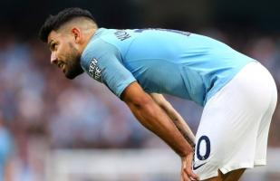 Manchester City vs. Burnley: 'Kun' Agüero erró increíble oportunidad de gol debajo del arco | VIDEO