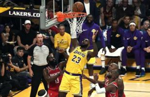 NBA: LeBron James lideró las mejores volcadas de la primera semana de la temporada regular | VIDEO