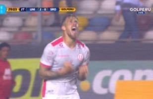 Universitario vs. Sport Rosario: el golazo de cabeza de Germán Denis para el 2-0 | VIDEO