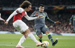 Arsenal empató 0-0 con Sporting Lisboa por la Europa League