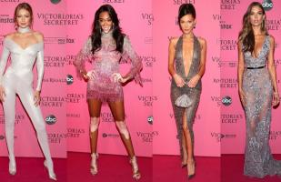 VS Fashion Show: el look de los ángeles en la 'pink carpet' | FOTOS