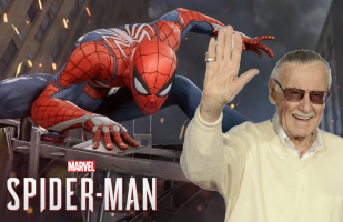 Stan Lee y su último cameo oficial en Marve'ls Spider-Man para PS4