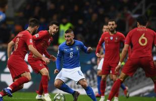 Portugal clasificó a la Final Four de la UEFA Nations League: igualó 0-0 ante Italia