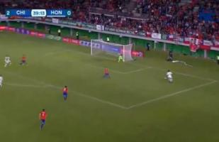 Chile vs. Honduras EN VIVO: el golazo de Alexander López para el 2-1 | VIDEO