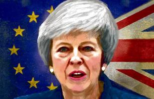 Theresa May, golpeada pero de pie; por Paul Keller