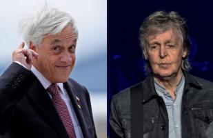 Piñera es abucheado tras ser mencionado por Paul McCartney en concierto | VIDEO