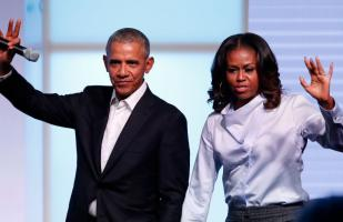 Los Obama firman acuerdo con Spotify para producir podcasts exclusivos